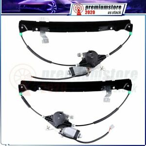 Power Window Regulator With Motor Rear Left Right Fits 2002 2010 Ford Explorer