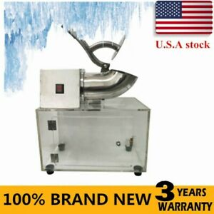 200w Commercial Electric Snow Cone Machine Ice Shaver Crusher Maker 110v 60hz