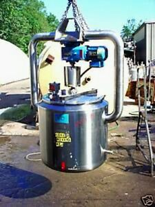40 Gallon 316 Stainless Steel Tank With Mixer