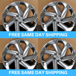 New 22 Inch Gunmetal Mf Style Gunmetal Fit Honda Accord Lx Acura 5x100 Et40mm