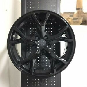 18 Type R Style Gloss Black Rims Wheels Fits Honda Civic Si New