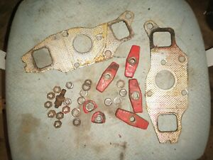 Massey Harris 44 Special Tractor Exhaust Manifold Clamps Nuts Gaskets Washers