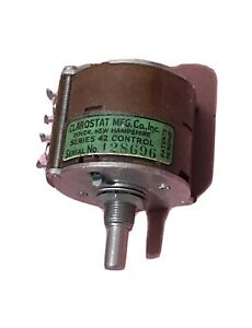 Vintage Clarostat Series 42 Potentiometer