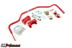 78 88 G body 1 Tubular Rear Sway Bar Chassis Mounted 3 250 Rear End Red