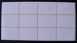 100 All Purpose Removable Adhesive Price Labels Tags Stickers Square 1 x 1