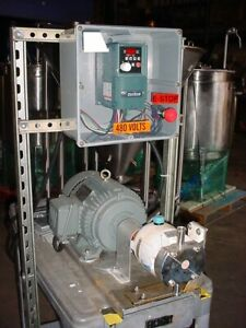 3 4 Inch Itt Jabsco Stainless Steel Rotary Lobe Displacement Pump Lh320