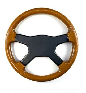 Raid Wood Wooden Steering Wheel Rare Mercedes Bmw Vw Vintage