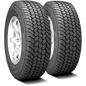 2 Goodyear Wrangler All Terrain Adventure With Kevlar 235 70r16 106t A T Tires