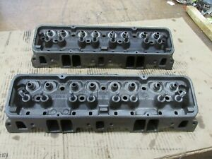 1966 Corvette Small Block Chevy Sbc 327 Hump Heads 3782461 461 I 22 5 J 15 5