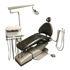 Adec 1040 Dental Chair Package W A dec 2122 Radius Delivery Assist Arm Light