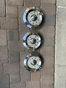 1957 59 Ford Dog Dish Hubcaps