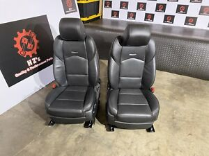 Cadillac Cts V Sport Sedan 2014 2019 Oem Front Left Right Leather Seat Seats 8k