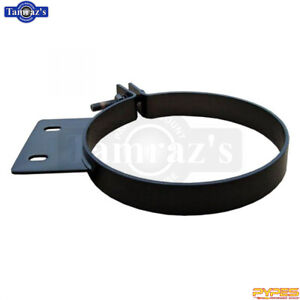 Universal Fit Pypes 8 Diesel Stack Clamp Stainless Black