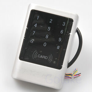 Waterproof Rfid Reader Keypad Standalone Door Access Control Touch Panel Outdoor