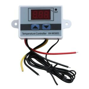 220v Digital Led Temperature Controller 10a Thermostat Switch Probe