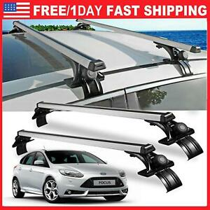 48 Universal Car Top Roof Cross Bar Luggage Cargo Carrier Rack W 3 Kinds Clamp