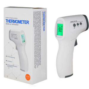 Digital Lcd Infrared Thermometer Non contact Forehead Baby Adult Temperature Gun