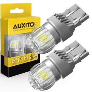 Auxito Ultra Bright 7443 7441 7440 W21w Led Tail Light Bulbs 6000k White 3030smd