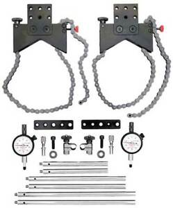 Starrett S668dz Alignment Clamp Set W 2zuh4 Indicator