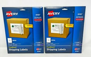 Avery 8165 Labels 2 Pack Full Sheet Labels 8 5 X 11 New Unopened 50 Sheets