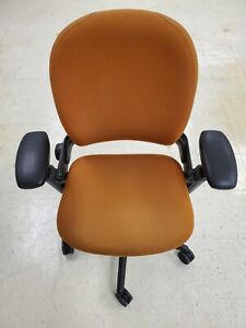 Steelcase Leap V1 Office Chair Orange free Local Pickup 25 Mi Delivery