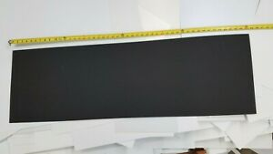 Black Kydex Plastic Sheet 030 X 15 X 48 Haircell Finish Thermoforming
