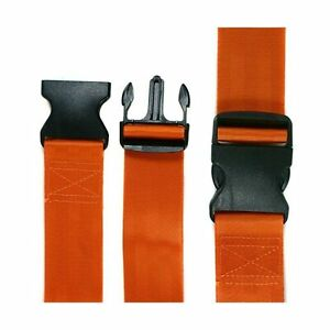 Iron Duck 31720f o Spine Board Strap 2 Piece 7 Long Plastic Buckle Nylon
