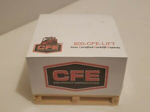 Wood Pallet Note Pad Sticky Notes Cfe Equipment Corporation Premium Quality