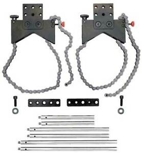 Starrett S668bz Alignment Clamp Set w acc And Case