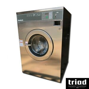 08 Huebsch 60lb Coin Commercial Washer 1phase Laundromat Speed Queen Unimac