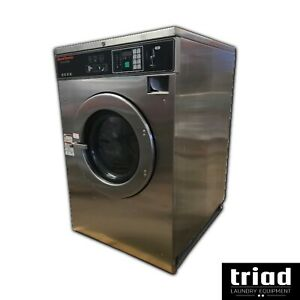 07 Speed Queen 40lb Coin Commercial Washer 3ph Laundromat Huebsch Unimac Ipso