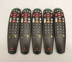 Polycom Remote Control For Viewstation Pvs 1419 Video Conferencing lot Of 5