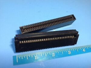 Idc Ide 60 Pin Card Edge Connector you Get 2 Flat Ribbon Cable Female Usa