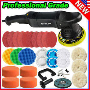 6 Dual Action Car Polisher Buffer Sander Waxer Polishing Machine Detailing Boat