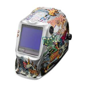 Lincoln Electric K4440 4 Viking 3350 Auto Darkening Welding Helmet With 4c Lens