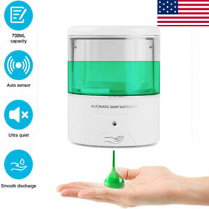 Wall mount 600ml Automatic Soap Dispenser Ir Sensor Touch Free Battery Powered