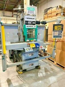 30 Ton Newbury Vertical C Frame Injection Molding Machine Shuttle Table i4851
