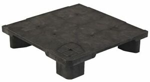 Zoro Select 24x24 Modular Pop Pallet Pallet 24 In L X 24 In H black