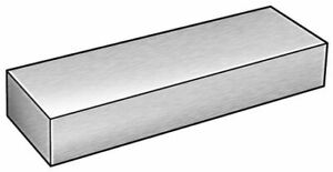 Zoro Select 6alw0 Bar Stock aluminum 6063 1 2 X 1 In 8 Ft