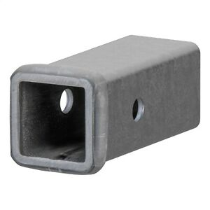 Curt 49060 Receiver Tube In Raw Finish Fits 2 Ball Mount 6 Length 2 Id