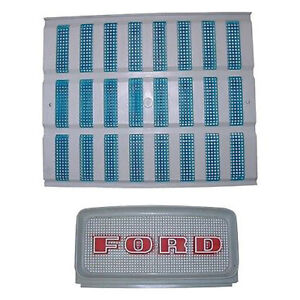 Upper Lower Grill Set Fits Ford Tractor 2000 3000 4000 5000