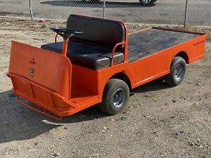 Used Taylor Dunn Industrial Flatbed Electric Utility Cart B248