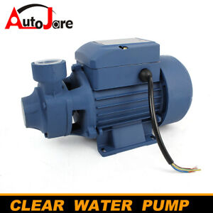 1 2hp Centrifugal 1 Clear Water Pump Pond Pool 3400 Rpm Industrial 110v 60hz