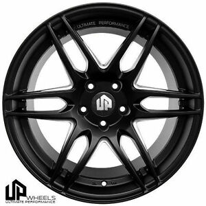 19 Set Of 4 Up520 Wheels Rims 5x112 Staggered Fits Mercedes C E S Cl Clk Class