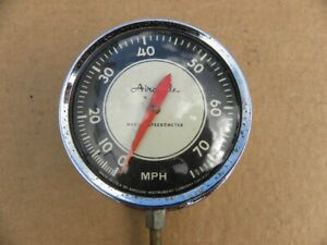 Vintage Airguide Sea Speed Marine Boat Speedometer 0 75mph