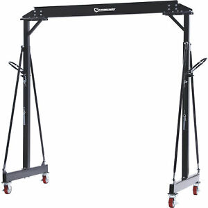 Strongway Adjustable Gantry Crane 4000 lb Capacity