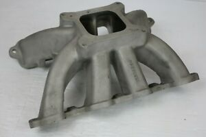 Gm Sb2 2 854 Wilson Ported Intake Manifold Drag Race Circle Oval Track Car Stock