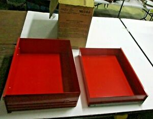 2 Matco Tool Chest Box Replacement Drawers Nos