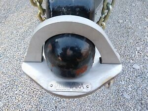 Trailer Hitch Coupler Lock 2 5 16 High Security 100 Stainless Steel