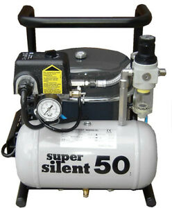 Lot Of 3 Silentaire Super Silent 50 tc Air Compressors For Airbrushing